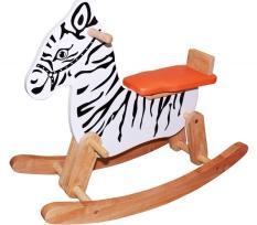 Bập bênh cho bé bằng gỗ cao cấp hình ngựa