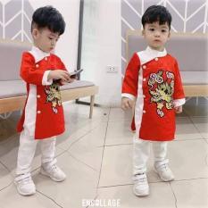 áo dài bé trai
