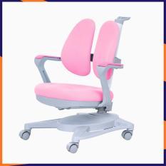 Ghế học sinh chống gù, chống cận có điều chỉnh độ cao, có bánh xe, màu xanh và màu hồng