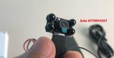 Camera V100 Plus 4 mắt hồng ngoại đen – Tặng kèm thẻ nhớ 32Gb – Dòng camera chuyên dụng quay đêm siêu nét – Camera mini hồng ngoại