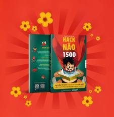 Sách – Hack Não 1500 ( Bên Trong Có Màu Đẹp, Tặng kèm audio nghe và video dậy cách phát âm )