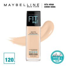 Kem Nền Lì Tự Nhiên Maybelline New York Fit Me Matte Poreless Foundation 30ml