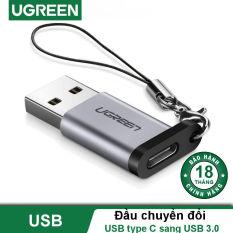 Đầu chuyển đổi USB type C cổng cái sang USB 3.0 cổng đực UGREEN US204 US276