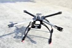 Bộ khung frame Flycam X650 quadcopter drone kèm bộ càng đáp cao (MU066 TP) – Luân Air Models