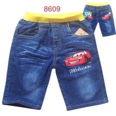 Quần jean lửng trẻ em cars QJT8609