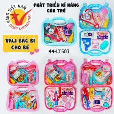 [HCM]Đồ chơi trẻ em Vali đồ chơi bác sĩ vali đồ chơi trang điểm cho bé chất liệu nhựa ABS an toàn với trẻ- định hướng nghề nghiệp