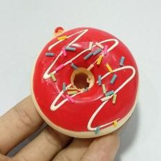 Squishy Các Hình – Mẫu 2 – Bánh Donut Đỏ