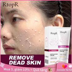 RtopR Kem tẩy tế bào chết 40g làm sạch da mặt. loại bỏ mụn đầu đen, dưỡng da mặt, giá siêu tốt