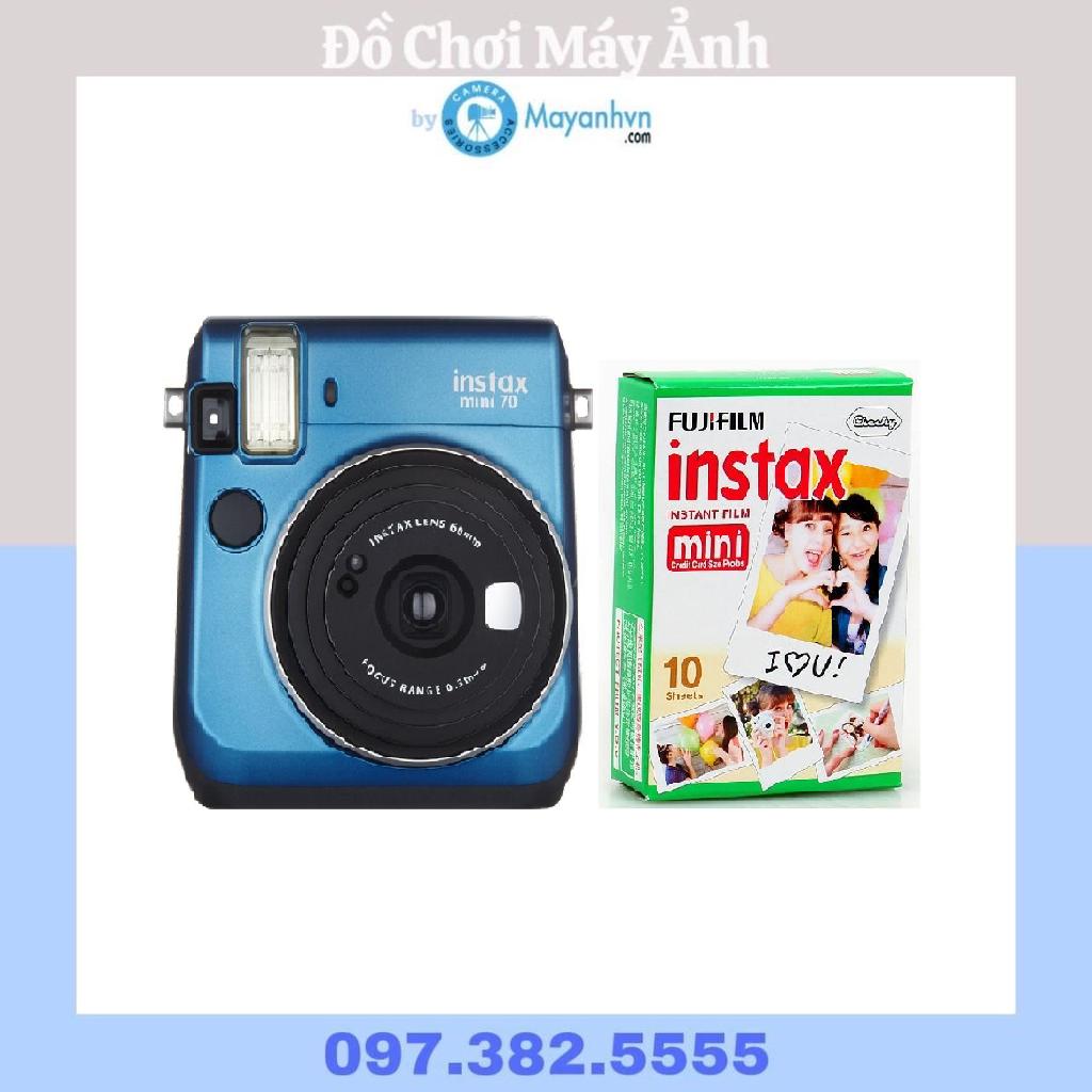 Máy ảnh chụp lấy ngay Fujifilm Instax- màu Island Blue- tặng kèm 10 tấm film