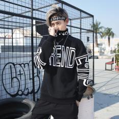 Áo Thu Đông Cổ Lọ Nam Phong Cách Đường Phố Xu Hướng Hip Hop In Chữ TREND Thời Trang Menkind TOP NAM 1000067V1