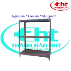 Kệ sắt 3 tầng dài 1m, cao 1m, rộng 0,3m – 3HT