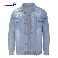 Áo khoác jean nam HAHAMAN thời trang cao cấp AKJ005