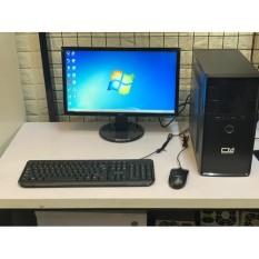 [Mới] Bộ máy tính dùng văn phòng, học tập gắn ổ SSD siêu nhanh, Chip Intel core i3 – Tặng Bàn phím chuột + USB kết nối mạng wifi