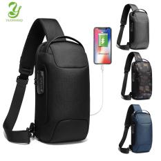 [Hàng quốc tế | Lưu ý thời gian giao hàng dự kiến]YILIONGDAQI OZUKO Túi đeo chéo khóa TSA chống trộm đa chức năng sạc USB chống nước dùng đi du lịch giá tốt
