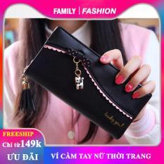 Ví cầm tay nữ – ví dài đựng tiền nữ – bóp/ví cầm tay nữ thời trang