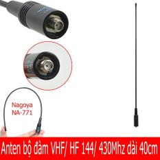 Anten bộ đàm VHF/ UHF 144/ 430 Mhz dài 40cm – Nagoya Na-771