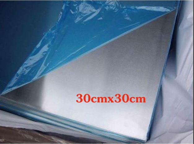 Nhôm tấm dày 2mm kích thước 30cmx30cm