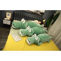 Gấu bông cá sấu mắt lồi béo 1m6 Cá Sấu Chúa dùng làm quà tặng bạn gái gối ôm ngủ hoặc dùng làm vật trang trí trong nhà