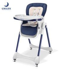Ghế ăn dặm gấp gọn cao cấp cho bé Chilux Grow V – Có khoá bánh xe, điều chỉnh độ cao dễ dàng, tiện lợi cho bé sử dụng