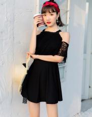 Áo Tắm Một Mảnh Dễ Thương Phối Ren HLAT112 Hoa Lan