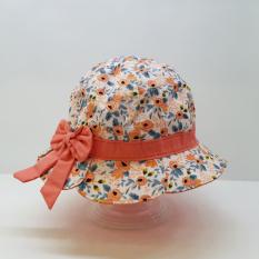 Nón vành bé gái hoa nhí Duy Ngọc size 48 từ 1 đến 2 tuổi