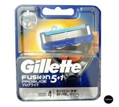 Nội địa Nhật – Vỉ 4 Lưỡi Dao Cạo Râu Gillette Fusion Proglide/Proshield (đầu cạo 5 lưỡi kép)