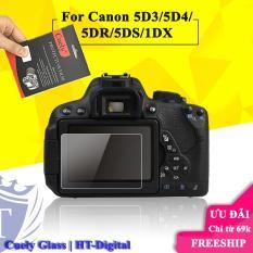 Miếng dán màn hình cường lực cho máy ảnh Canon 5D3 5D4 5DR 5DS 1DX