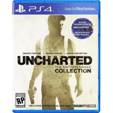 Đĩa Game PS4: Uncharted: The Nathan Drake Collection – US