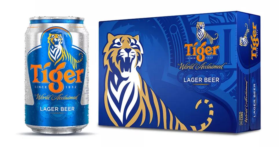 [Siêu thị VinMart] – Thùng 24 lon bia Tiger 330ml