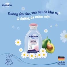 Sữa dưỡng thể chiết xuất Olive Hữu cơ Sanosan 200ml