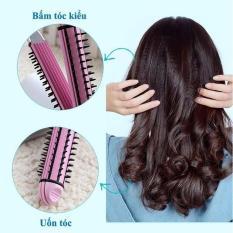 Máy duỗi tóc – máy bấm tóc – máy uốn tóc xù tạo kiểu tóc 3 chức năng cao cấp : duỗi, uốn, bấm tạo kiểu tóc – 3 chức năng trong 1