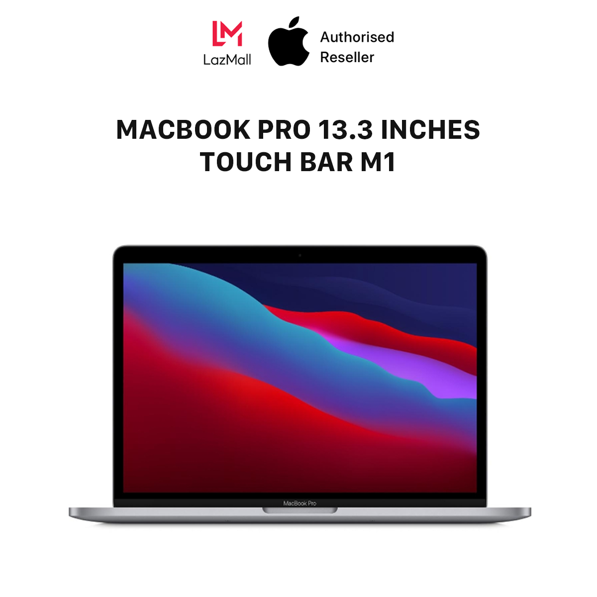 MacBook Pro 13 inches Touch Bar M1 Chipset (8GB/16GB – 256GB/512GB) – HÀNG CHÍNH HÃNG