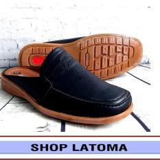 Dép da nam, dép bít mũi, giày sục, giày lười, kiểu dáng hiện đại vận động dễ dàng và lịch lãm thời trang cao cấp Latoma TA3251 (Nhiều Màu)