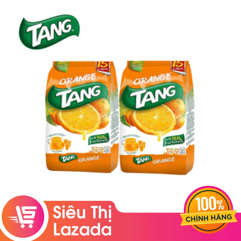 [Siêu thị Lazada]Combo 2 Bột Cam Tang 375g chế biến nhanh, tiện dụng, hương vị trái cây tự nhiên thơm ngon