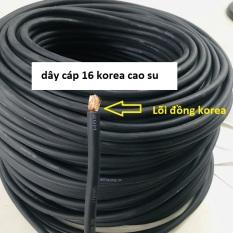 Dây cáp hàn 16 korea lõi đồng