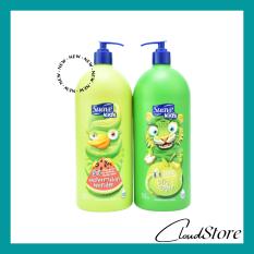Sữa tắm gội Suave Kids 3 in 1 mẫu mới chai có vòi 532ml