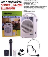 Máy trợ giảng Shuke SK-290 , Có kết nối Bluetooth (Trắng)