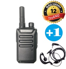 Bộ Đàm Siêu Nhỏ Motorola GP600 + Tai Nghe Chuyên Dụng GP-600