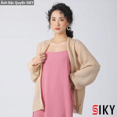 Áo Cadigan len mỏng phong cách Hàn Quốc – Siky