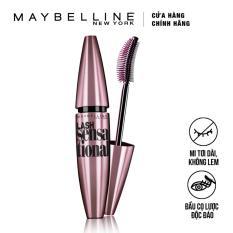 Mascara Maybelline New York dài và tơi mi Lash Sensational 10ml (Đen)