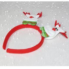 Băng đô cài tóc trang trí Noel 2 đầu có đèn LED – MIA SHOP