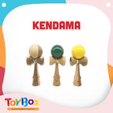 Đồ chơi trẻ em Kendama gỗ xanh ToyBox đồ chơi truyền thống Nhật Bản