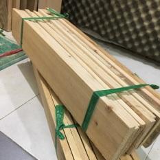 COMBO 5 cây gỗ thông pallet dài 60cm, rộng 9.5cm, dày 1.4cm được bào láng 4 mặt