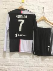Bộ quần áo Siêu Sao Ronaldo tay dài Juventus sân nhà 2020!
