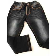 Quần Jean dài lưng thun bé trai (Size 11-18) Màu đen