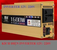 Kích điện inverter 12v – 220v 1600W