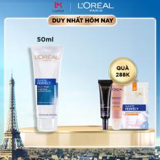 Sữa rửa mặt trắng da L'Oreal Paris White Perfect milk foam purifying & brightening 50ml