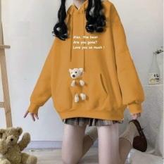 Áo Hoodie Nữ Kèm Gấu Alas | Áo Hoodie Kèm Gấu AH202