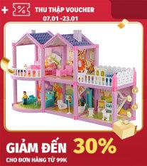 [Lấy mã giảm thêm 30%]Mô hình nhà búp bê cỡ lớn cho các bé chơi đồ chơi Barbie chất liệu nhựa an toàn cho bé đảm bảo tiêu chuẩn vệ sinh