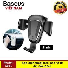 Kẹp điện thoại – Giá đỡ điện thoại trên ô tô Baseus Gravity Car Mount – Phân phối bởi Baseus Vietnam